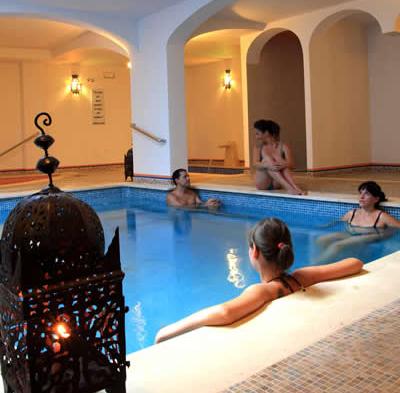 Baños árabes en Córdoba, Andalucía