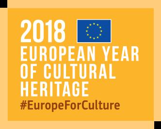 Logo 2018 Año Europeo del Patrimonio Cultural