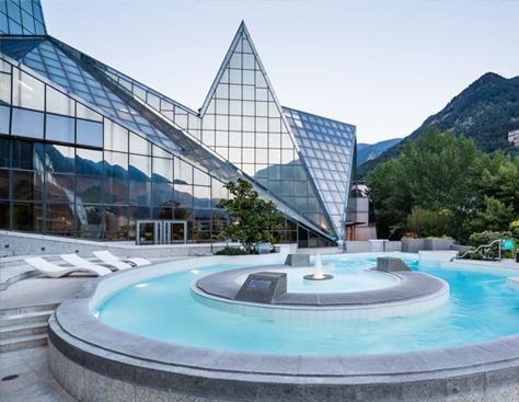 Centro termolúdico Caldea, Andorra