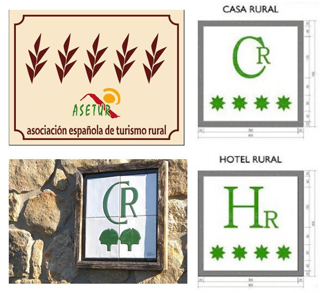 Categorización alojamientos rurales en España