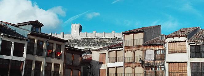 Castillo y Plaza del Coso de Peñafiel