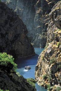 Ruta fluvial entre cañones de los Arribes del Duero