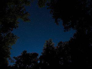 Cielo oscuro Sierra Norte Gredos