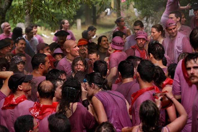 Batalla del vino, turismo en Haro, en La Rioja Alta