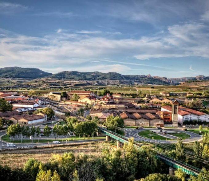 Barrio de la Estación de Haro, en La Rioja Alta