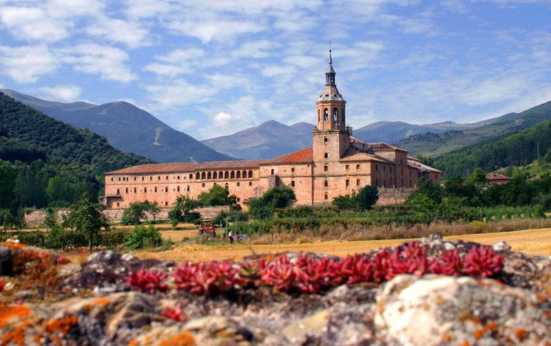 Monasterio en San Millán de la Cogolla, en La Rioja