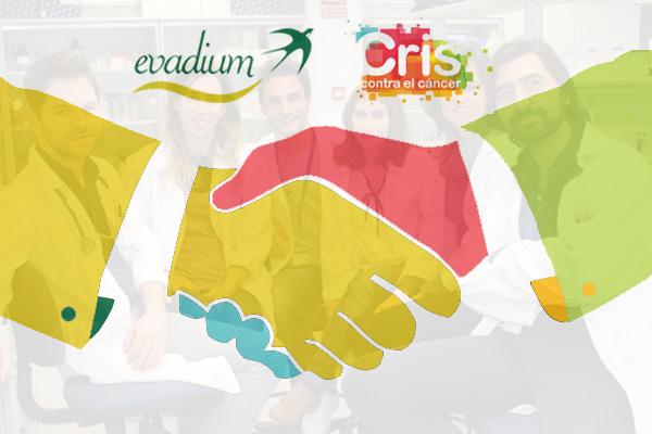 Colaboración Evadium y Fundación CRIS contra el cáncer