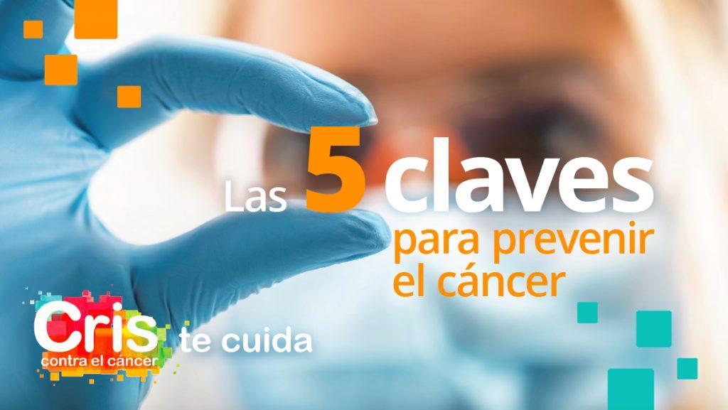 Guía consejos prevenir cáncer de la Fundación CRIS