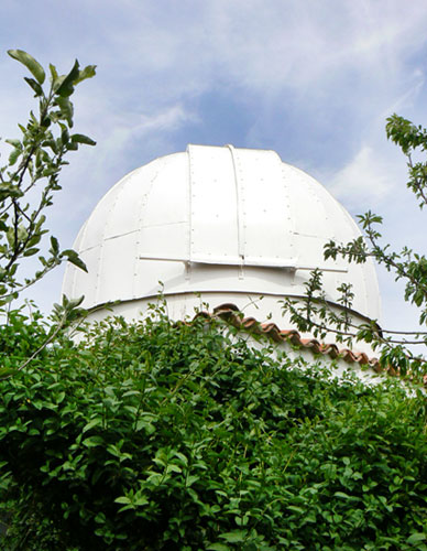 Observatorio de pastor galáctico en Zamora