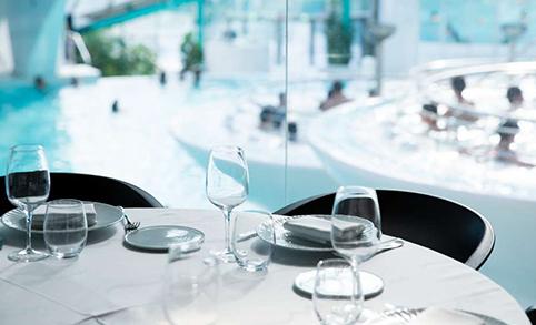 Restaurante Caldea espacio Termolúdico