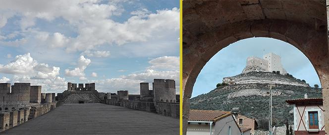 Peñafiel y Curiel de Duero castillos