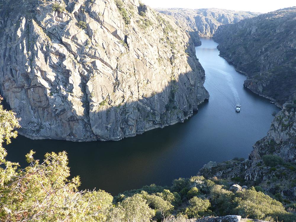 Ruta fluvial por los Arribes del Duero, en la provincia Zamora