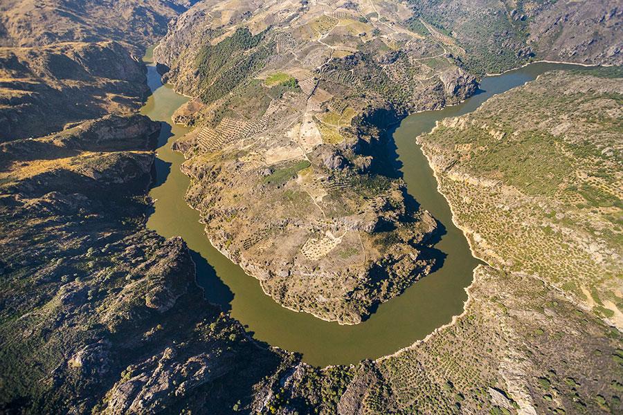 Vista panorámica Parque Natural de los Arribes del Duero