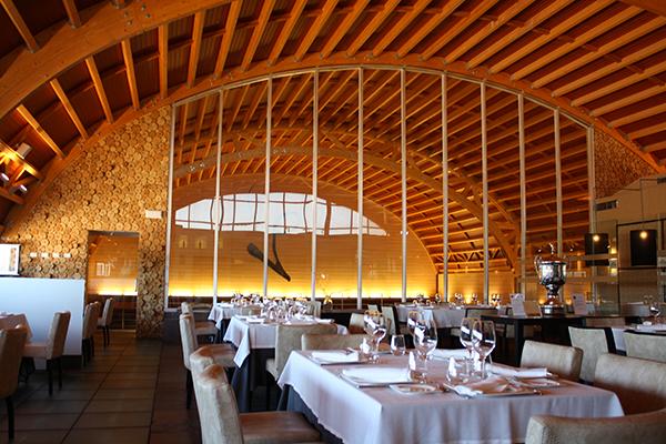 Interior restaurante Hotel Bodega Pago del Vicario