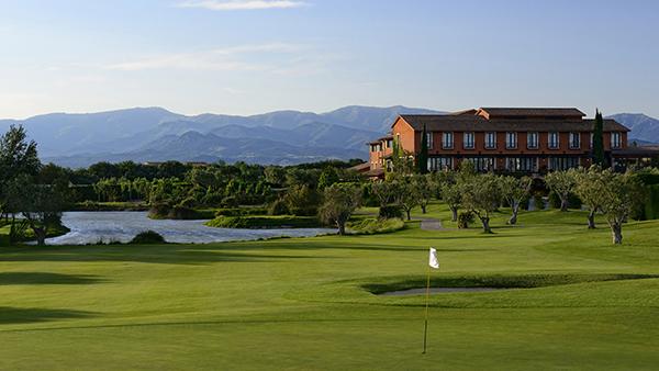 Panorámica Hotel Bodega Wine SPA Golf Peralada