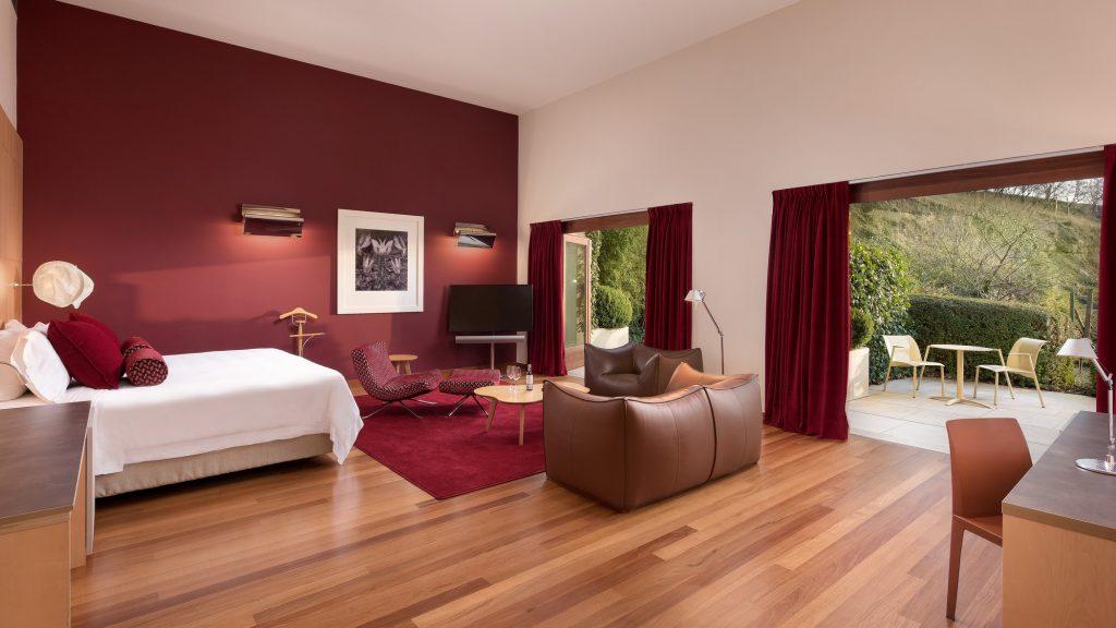 Habitación Hotel Marqués de Riscal, en Elciego, Rioja Alavesa