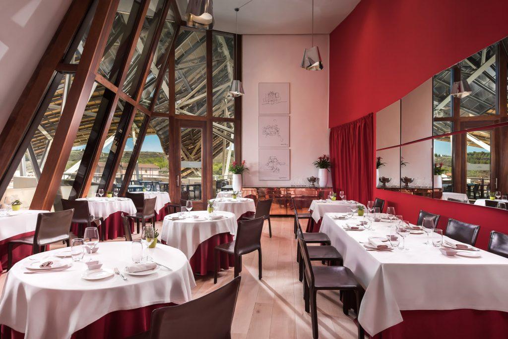 Restaurante 1860 Tradición en Hotel Marqués de Riscal, en Elciego, Rioja Alavesa