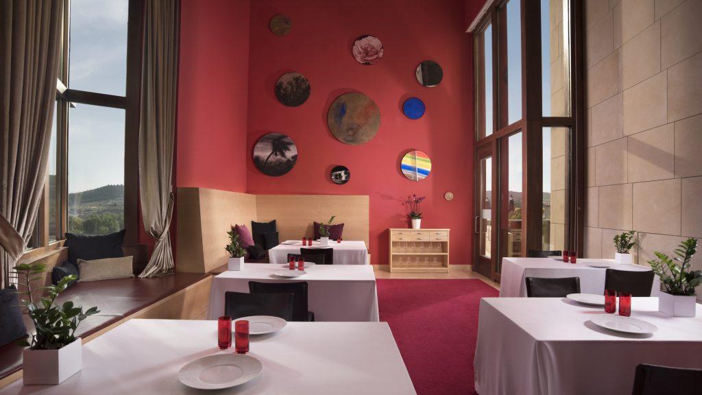 Restaurante gastronómico en Hotel Marqués de Riscal, en Elciego, Rioja Alavesa