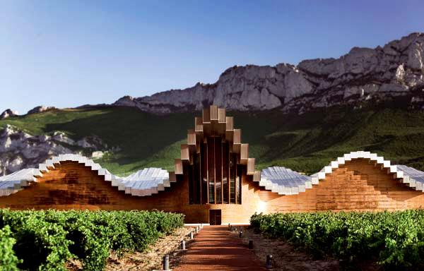 Bodegas Ysios, en la Rioja Alavesa