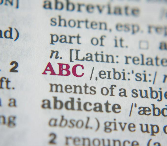 Página de diccionario de enoturismo