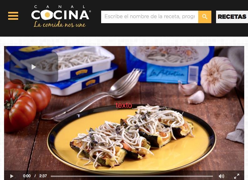 Canal Cocina de TV online