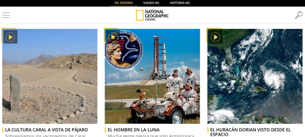 Documentales de viajes de National Geographic