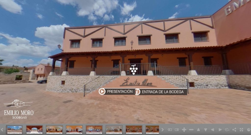 Tour virtual a Bodegas Emilio Moro