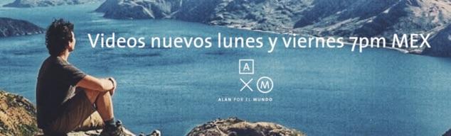 Video blog de viajes Alan por el mundo