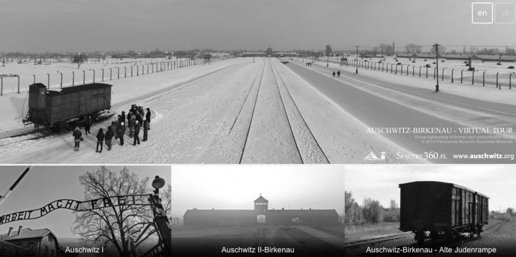 Visita virtual a campo de concentración de Auschwitz en Polonia
