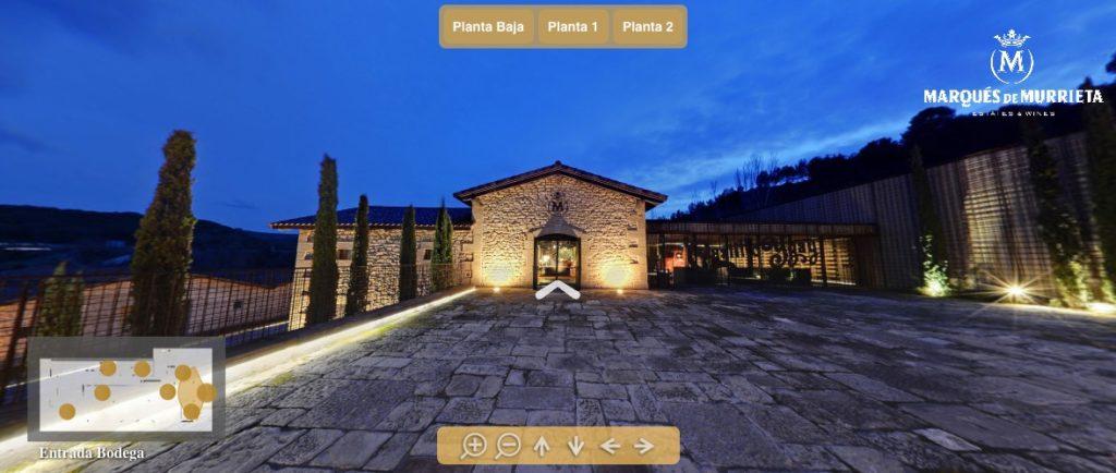 Visita virtual a Bodegas Marqués de Murrieta, en La Rioja