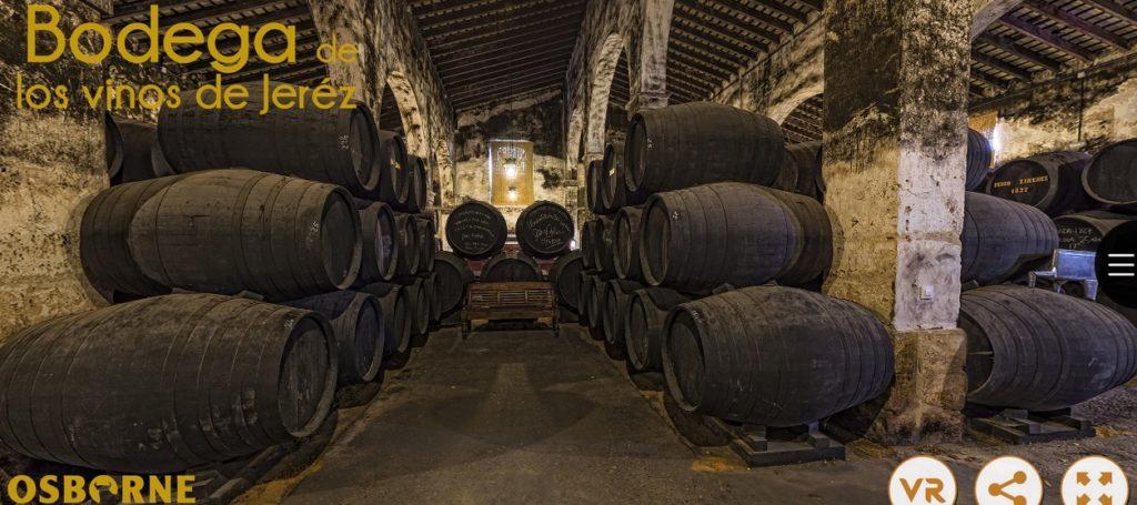 Visita virtual a Bodegas Osborne en El Puerto de Santamaría, Cádiz