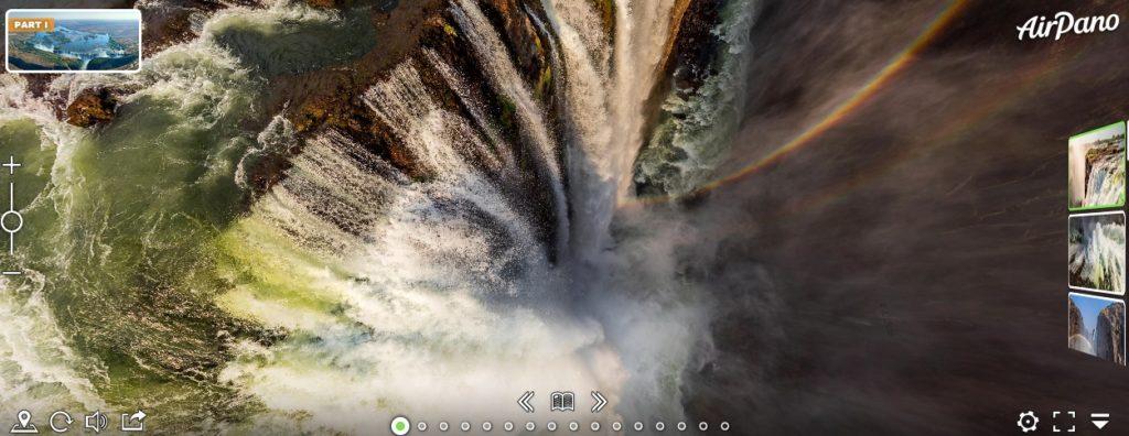 Visita virtual a Cataratas Victoria en Zambia