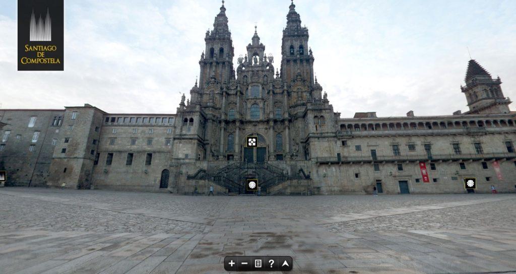 Visita virtual a Catedral de Santiago de Compostela