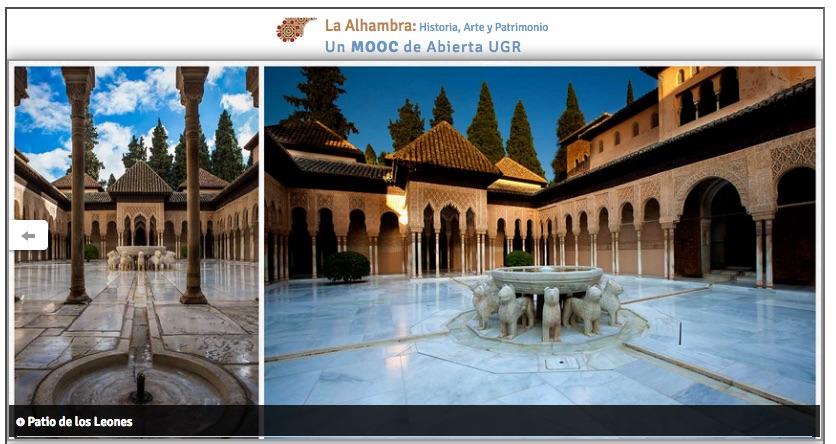 Visita virtual a La Alhambra, en Granada