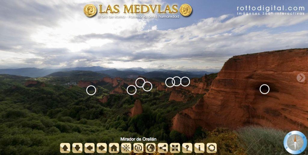Visita virtual a Las Médulas, en León