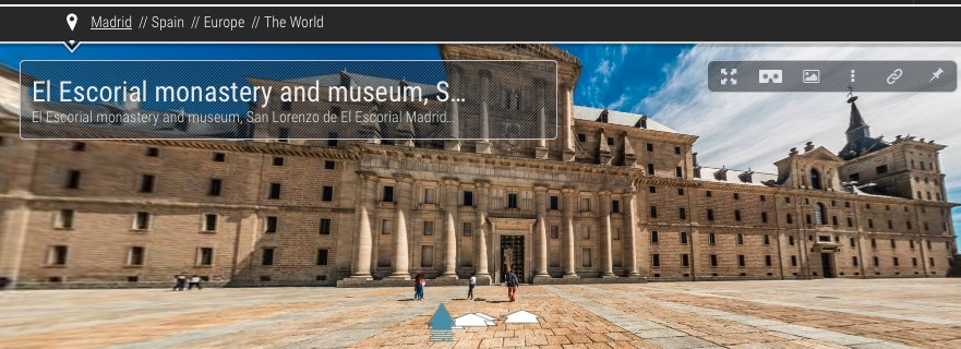 Visita virtual a El Escorial, Madrid