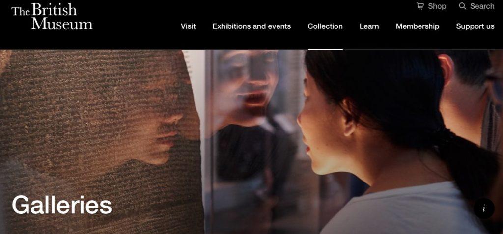 Visita virtual a galerías del Museo Británico de Londres