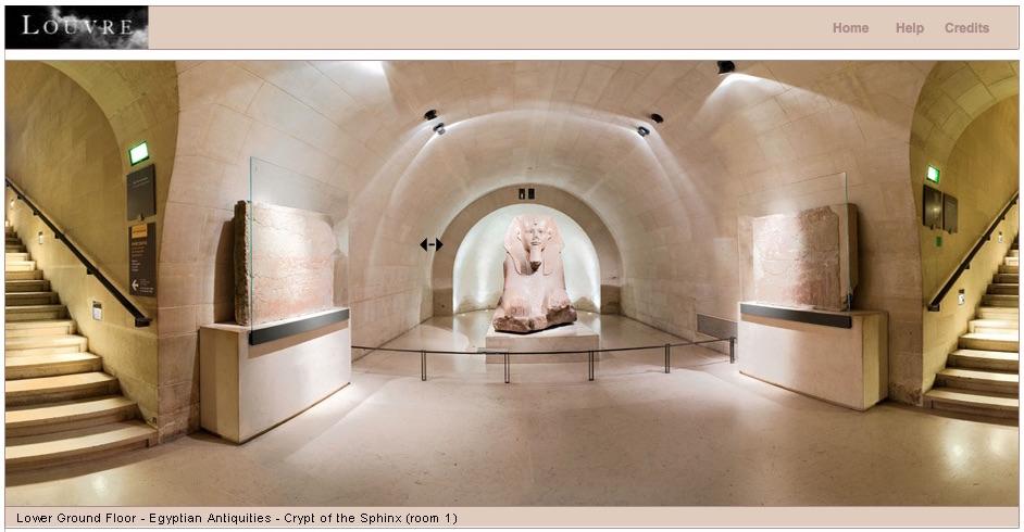 Visita virtual a Museo del Louvre en París