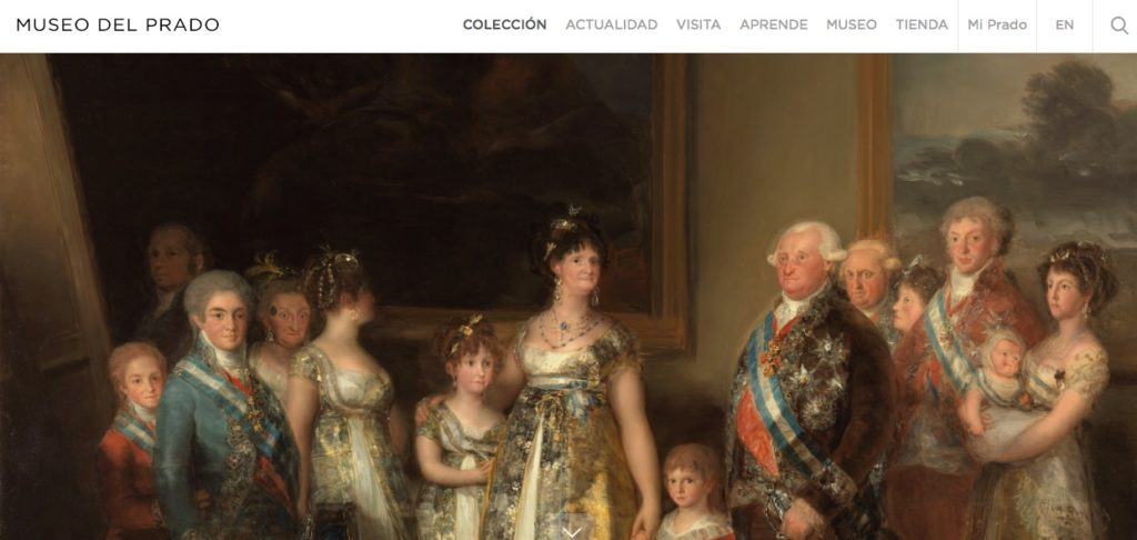 Visita virtual a Museo del Prado en Madrid