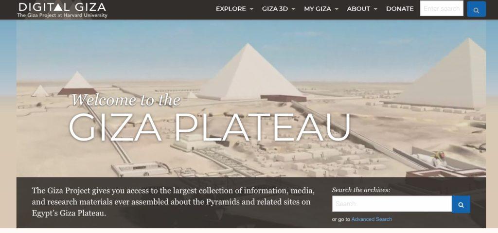 Visita virtual a las Pirámides de Giza en Egipto
