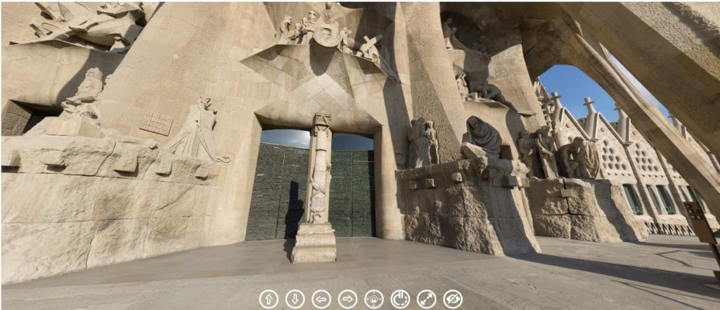 Visita virtual a Sagrada Familia de Barcelona