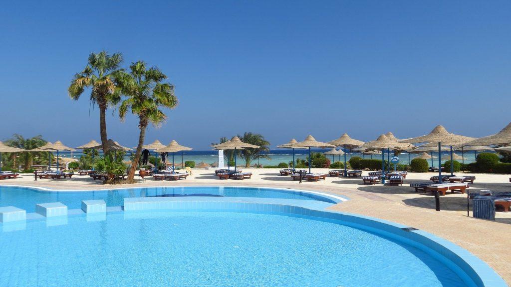 piscina para vacaciones de verano