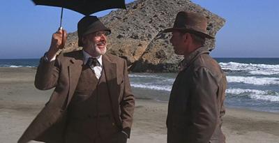 Indiana Jones y la última cruzada, rodaje en Almería