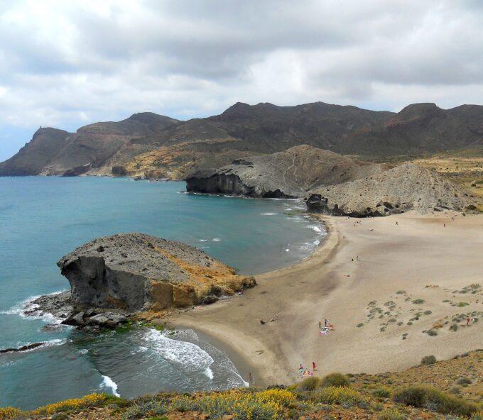 Playa de Mónsul, Cabo de Gata, Almería