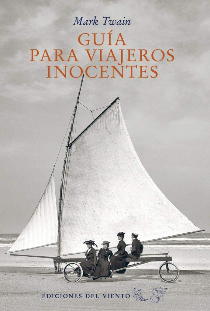 libro de viajes para regalar - Guia viajeros inocentes - mark twain