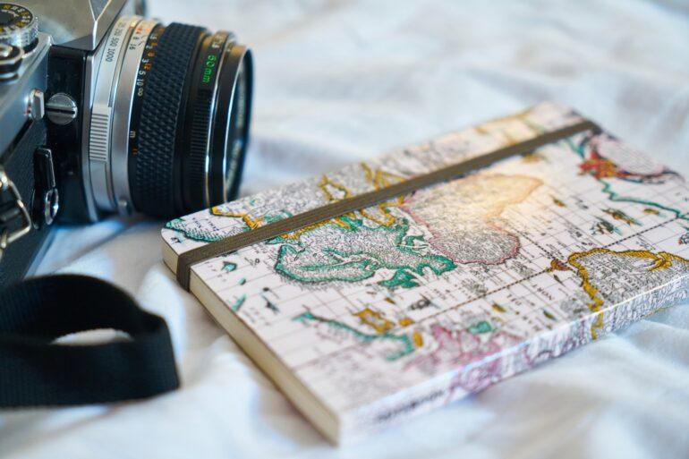 Cámara de fotos de viajes